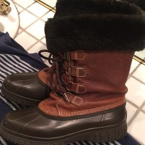 Sorel  hand crafted leather insulated boots